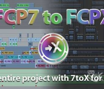 FCP7与FCPX工程转换互导工具(7toX for Final Cut pro) v1.0.8 官方最新版